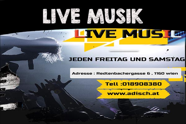 Persische Live Musik wien Stage Musik Live Adisch Cafe Restaurant